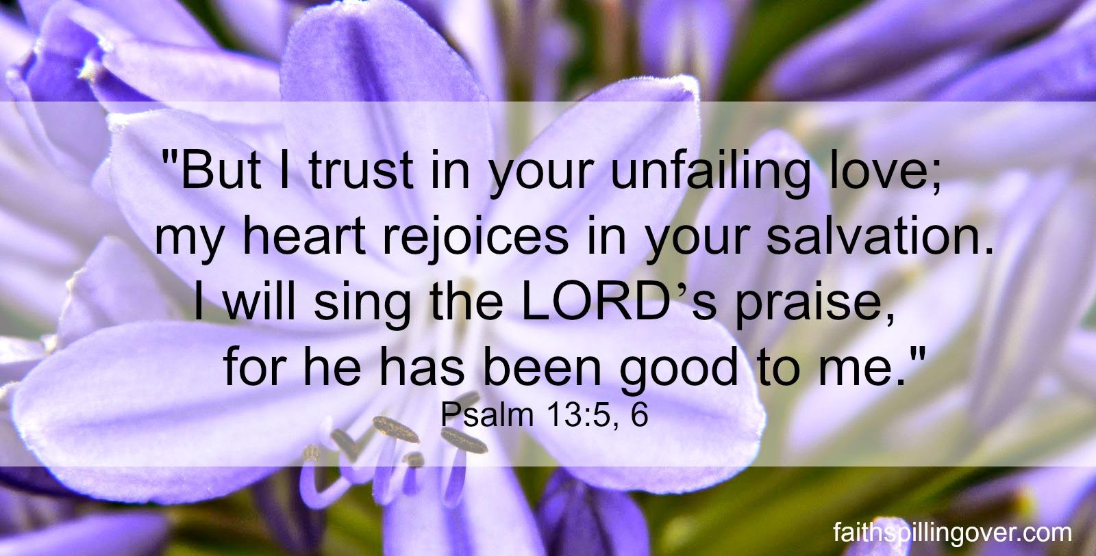 Psalm 13 5