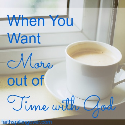more out of time with God