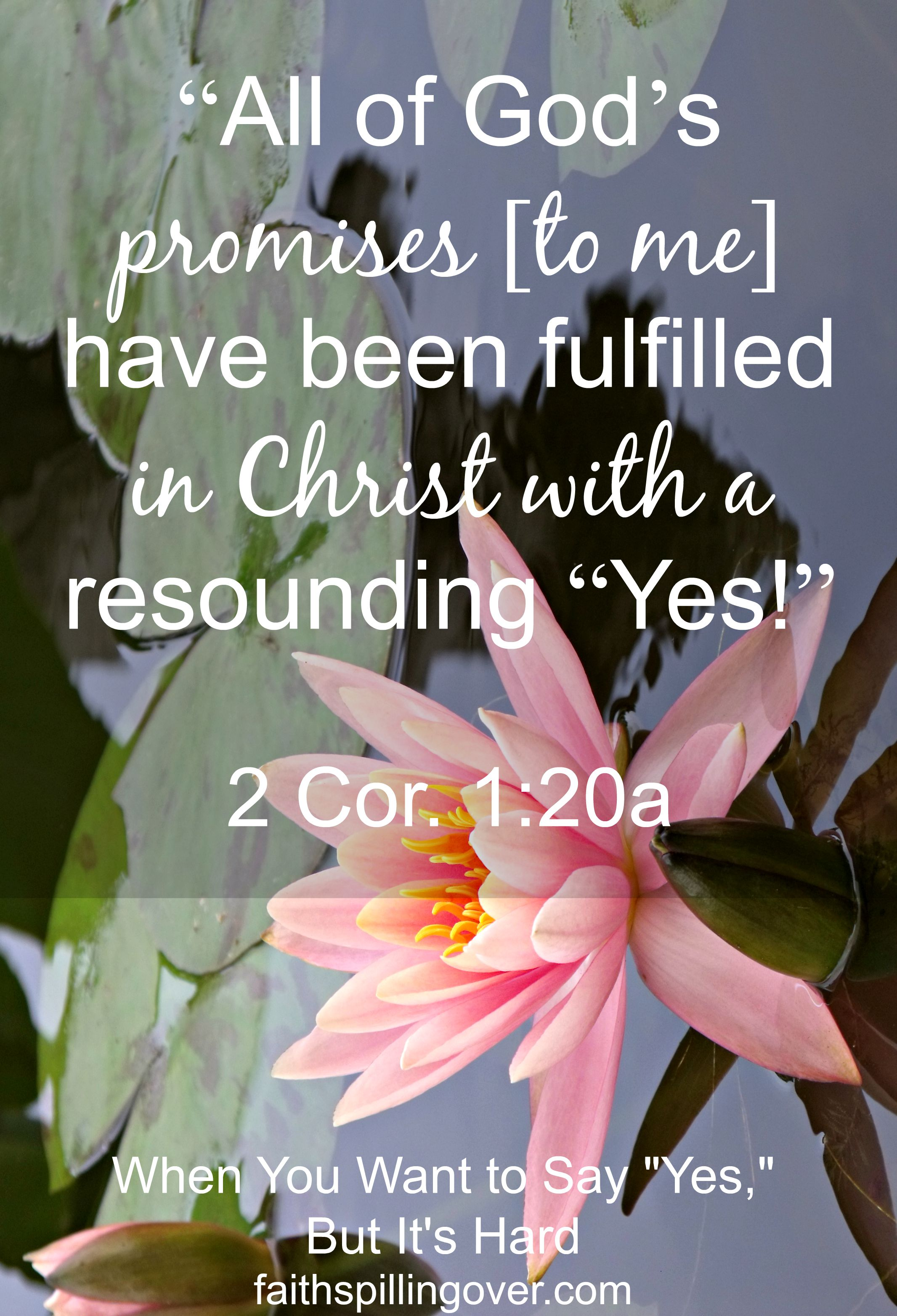 All of His promises scripture