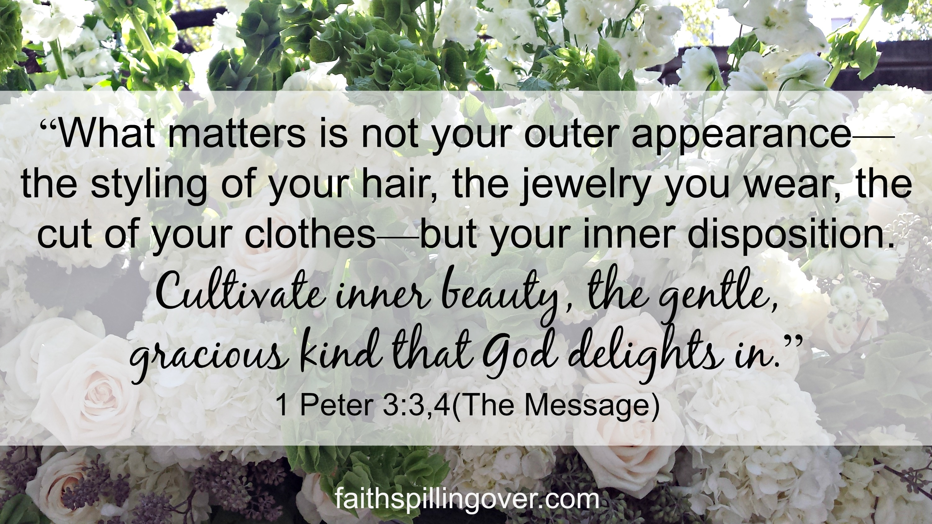 Inner Beauty Scripture