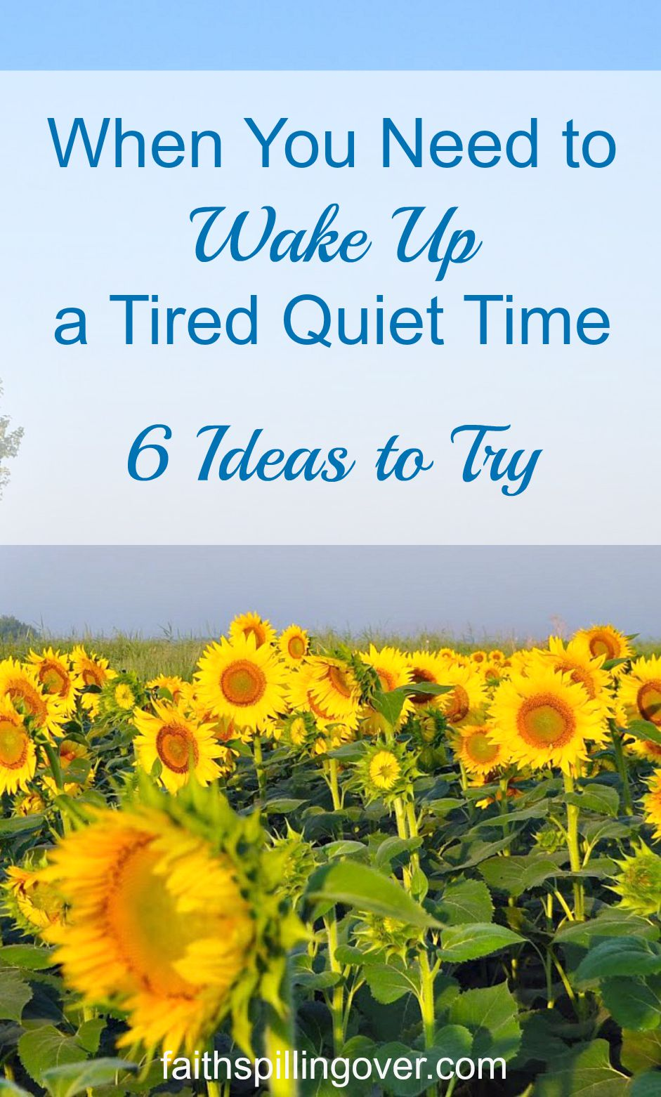 Does your devotional life ever feel like Dullsville. You're not alone. Try these 6 ideas to wake things up.