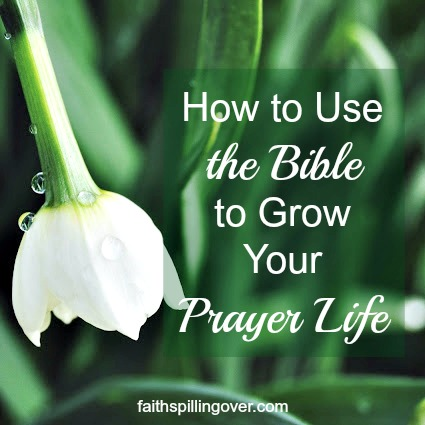 God's Word has power to fuel your prayer life. Here are 3 ways to pray using God's Word and 6 scriptures to make your own. #prayer