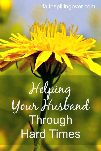 When a man meets with discouragement, a good wife can help him through it. Here's how to be your husband's helper when he's down.