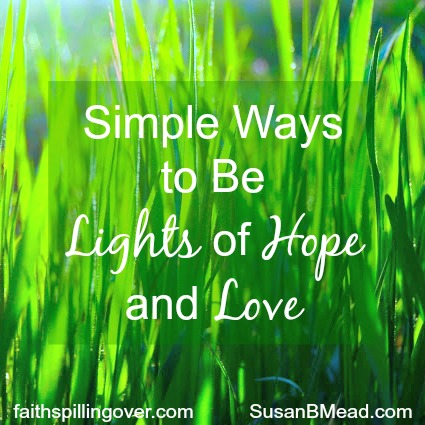 You and I are called to be the light of the world. Six simple ways to shine for Jesus this week.