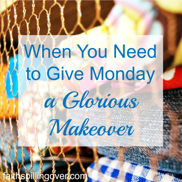Let's talk about Mondays. I always dreaded getting back to work after the weekend, but I've decided to reframe Mondays into glory days. Here are 2 ways to get a better start on a new week.