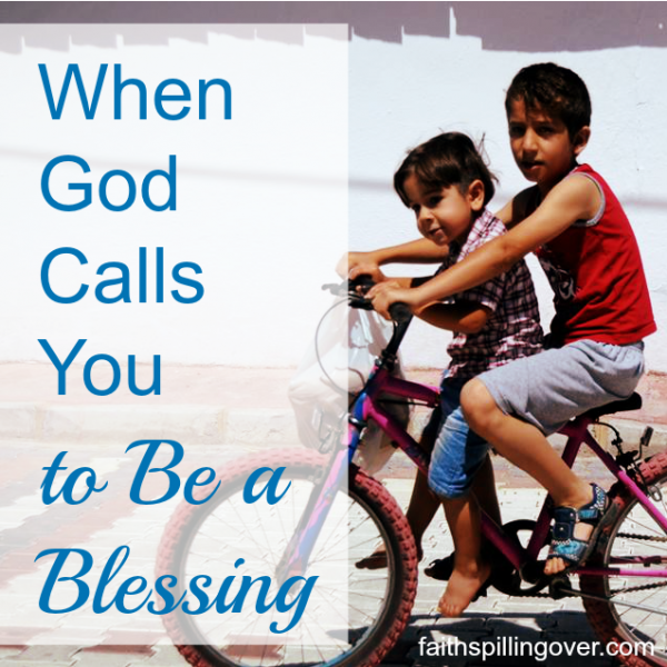 How much joy do we miss because we're too busy to pay attention to God's prompting to bless others...