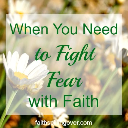 Fear makes us forget God and His care for us. Faith focuses on His love and power. 3 Steps to shift your focus toward God when fear knocks at your door.