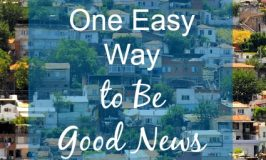 One Easy Way to Be Good News