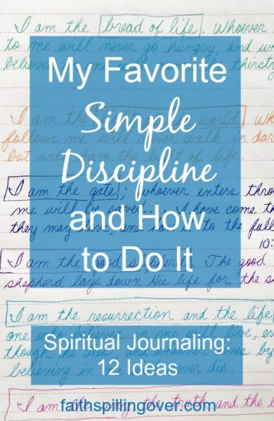 A spiritual journal is a powerful tool to help us pay attention to God's voice and His work in our lives, but journaling isn't rocket science. Here are 12 ideas to start simply.