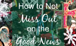 How to Not Miss Out on the Good News