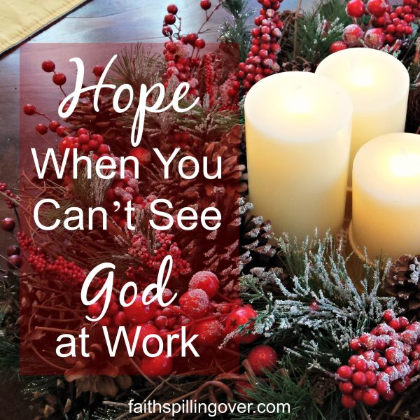 If you're praying, but don't see God at work, take heart. Look for small answers, and remember that God's love and light always win.
