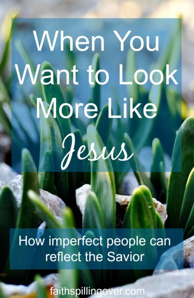 We're the only letter from Jesus some of our friends and family may read, but we don't have to be perfect. How can we be Jesus to people around us today?