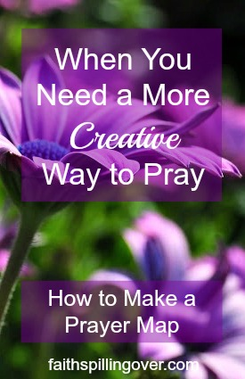 Do you need more creativity and inspiration to liven up your prayer life? Try prayer mapping. It's a great way to pray bigger. Here's how to do it.