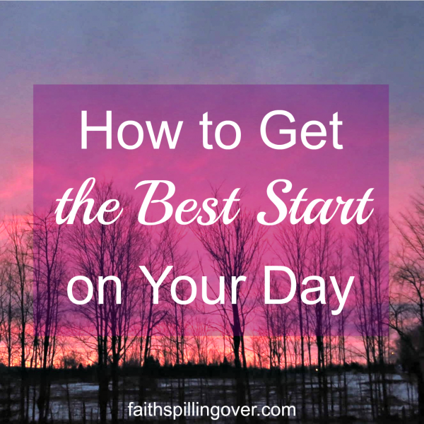 Each day brings challenges, but no matter what's on our plate, we can get a better start on the day with a generous helping of God's Word and these 3 Steps.