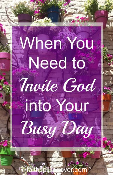 Ever have busy, hectic days when you feel like you lost touch with God? Breath prayers are simple way to invite God into your day before you lose your cool.