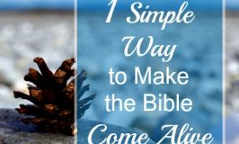 1 Simple Way to Make the Bible Come Alive