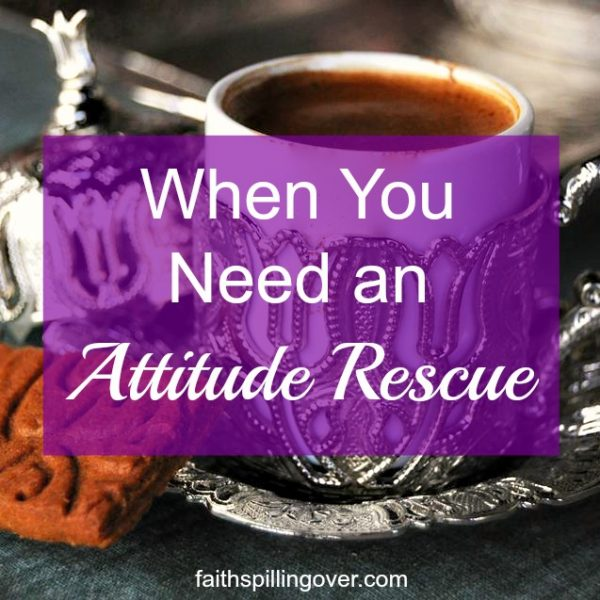 Do you need an attitude rescue when people unexpectedly change your plans? 3 steps to letting God renew your outlook so you can respond with love to interruptions.
