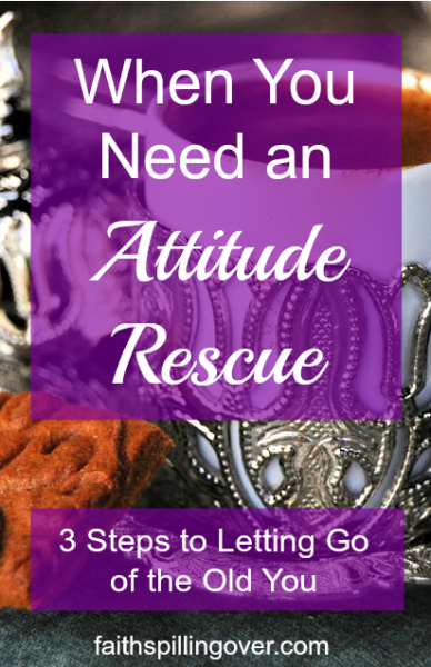Do you ever need an attitude rescue when people unexpectedly change your plans? 3 steps to let God renew your outlook so you can respond with love to interruptions.