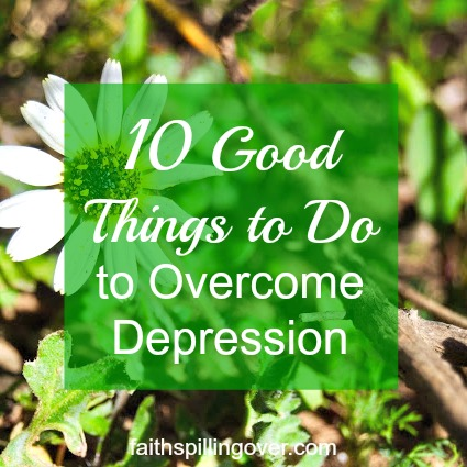 If you're feeling depressed, you are not alone. Hope is around the corner. Here are 10 Good Things Christians Can Do to Overcome Depression.