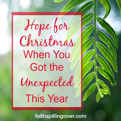 Maybe this year brought the unexpected, and you need Resurrection Hope for Christmas. Here's encouragement to remember Jesus brings life to dead hearts.