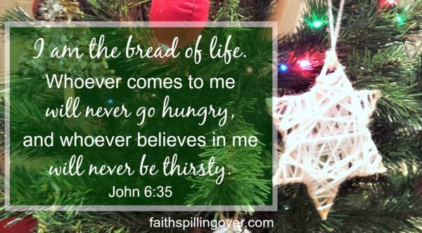 Jesus is the Bread of Life who came down from heaven to give us life. He feeds, empowers, and sustains us. He promises to meet every need, but He calls us to do 2 things.