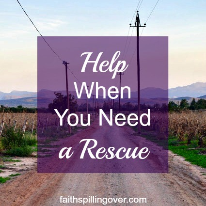 When life is hard and we feel stuck, Jesus comes to our rescue when we call. Here are 3 truths about how He can help us and a prayer to draw near to Him.