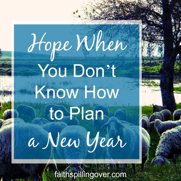 It's hard to plan a New Year when life looks uncertain, but we have a Good Shepherd with a good plan. We can breathe easy knowing Jesus will show us the way: 2 Things to Remember.