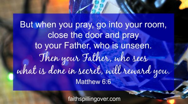 Ever feel discouraged when you pray and don't see results? Three truths will encourage you and help you build your faith.