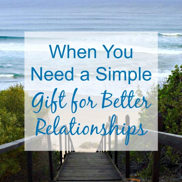 What if you knew a simple secret for better relationships? Listening is a gift you can give today to the people you love. Here are 4 steps to do it better.