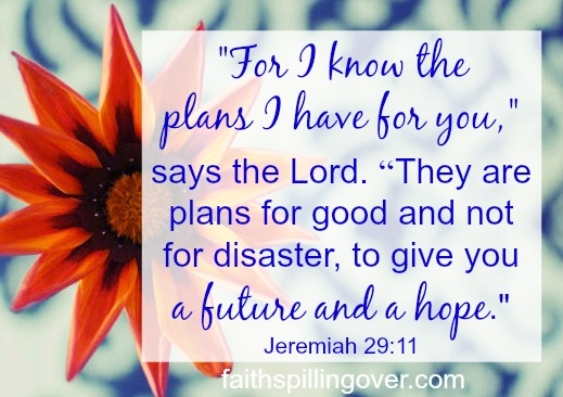 When God changes your plan, how do you move forward? Here's encouragement and 4 hopeful steps to help you handle unplanned and unwanted circumstances.