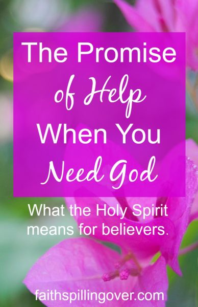 Friend, if you feel lonely, powerless, or unsure today, remember God's promise of Help. We are not alone. Here's what the Holy Spirit means for believers.