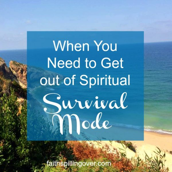 Are busy schedules choking your soul, so you feel stuck in survival mode? 3 invitations from Jesus can help us move towards abundant life again.
