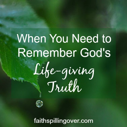 Do you ever read the Bible and then forget what you read by the time you need it later? One simple, yet powerful practice can help you remember truth.