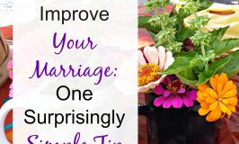 In your marriage, do simple irritations get blown out of proportion? One surprisingly simple tip can improve your marriage this week.