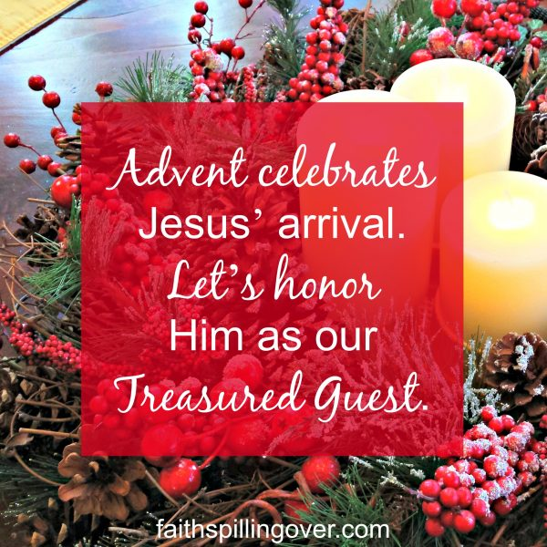 This December, let's treasure Jesus by celebrating His arrival into the world and into our hearts. Here are 4 ways to honor Christ during Advent.