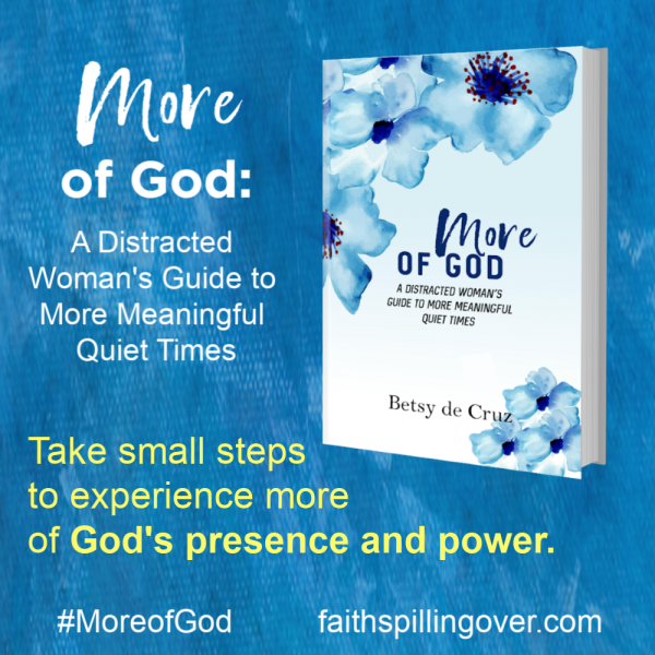 Want to experience more of God's power and presence in your quiet time and all day? Learn how with the book More of God. Read free sample chapters today.