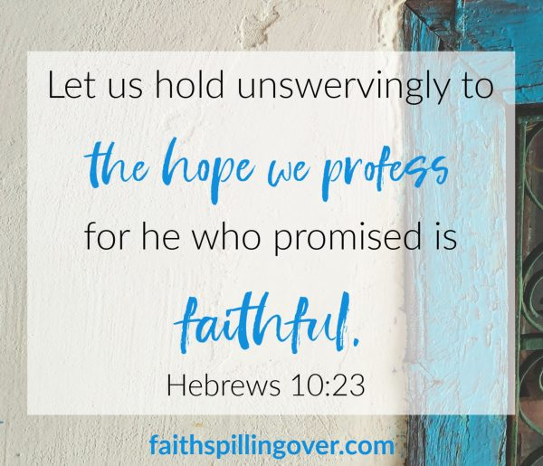 Need encouragement because your life has turned into an endurance marathon? The book of Hebrews reminds us Jesus is near and offers 4 steps we can take.