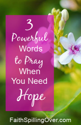 Need 3 powerful words to pray? If your hope is lagging this Easter, take heart. The convict who died on the cross next to Jesus will encourage your faith.