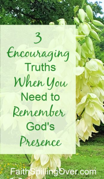 Facing changes? 3 truths about God's presence will encourage you. Whether you're navigating a new job or a new life, remember His hand holds and guides you. #changes #encouragement #Psalms #hope #God #Godspresence
