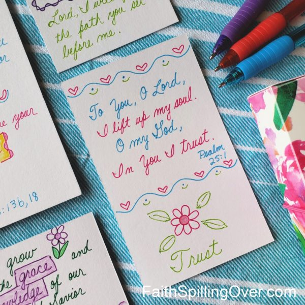 How to Make Bible Journaling Quick, Easy, and Fun - Faith