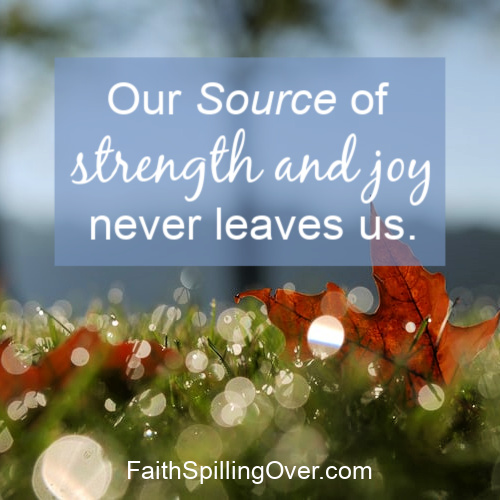 How do you find renewed strength when you need it? Here's encouragement on how God renews our spirits and tips for how to seek Him.