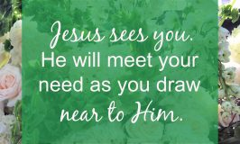 If you feel busy and overwhelmed, 5 steps to make room for Jesus can help you feel closer to God again. As you draw near to Jesus, He will meet your need.