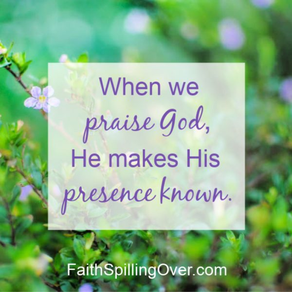 The presence of God is always with us, yet daily problems can make us forget Him. One step helps us recover a fresh sense of God's presence at our side.
