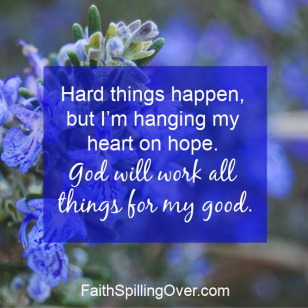 A positive outlook makes a tough situation easier, but a negative attitude makes it worse. 5 steps help you stay positive and choose joy when life gets hard. #joy #encouragement