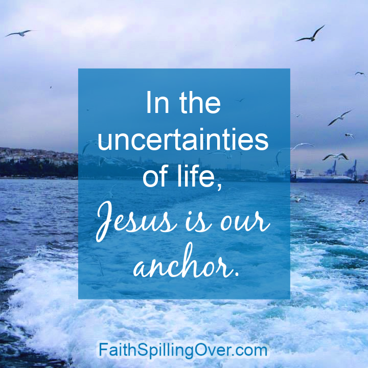 How do you calm your heart when life takes an unexpected turn for the worst? 3 strategies will help you find calm in Christ and remember He is your anchor.