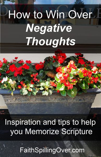 Negative thoughts make a problem worse, but a positive attitude helps us through it. God's Word can help us win over negativity. Here's how.