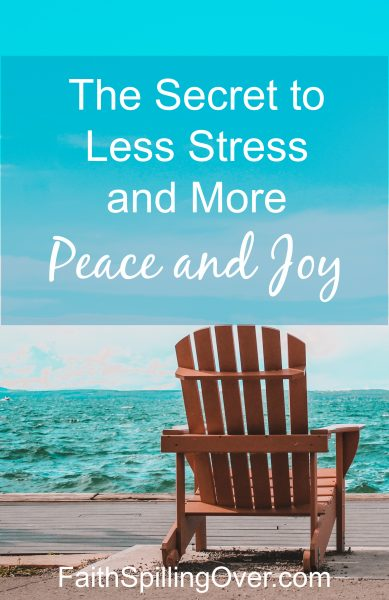 We all want more peace and joy, but our busy lives lead to stress and exhaustion instead. Learn about God's invitation to a happier life.
